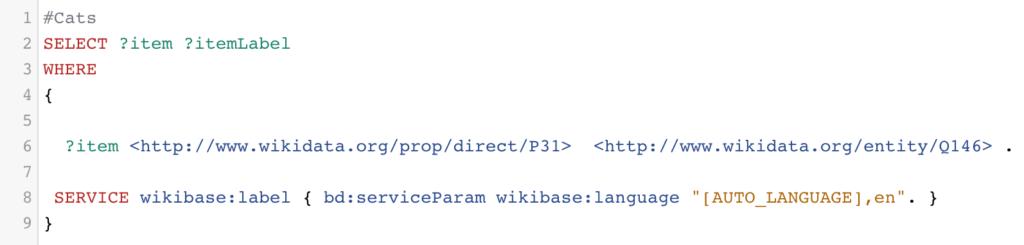 Wikidata Query Service URI 2